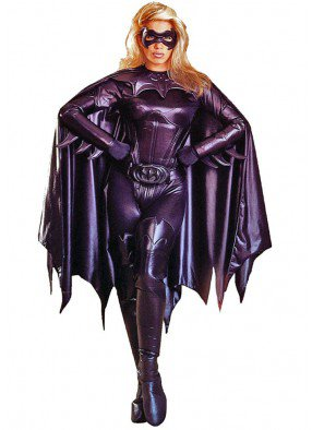 Чёрный костюм Бэтвумен