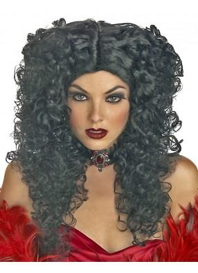 Чёрный парик мадам Смерти