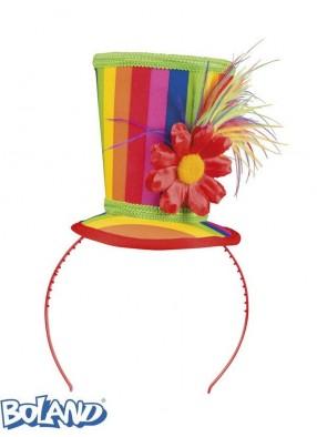 Цветная мини-шляпа