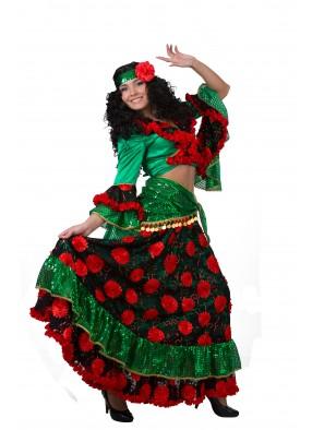 Цыганка красно-зеленая с боку фото