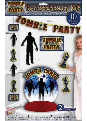 Декор для вечеринки зомби