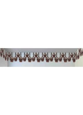Декорация для потолка с черепками
