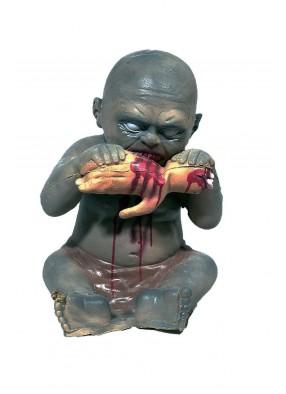 Декорация Ребенок поедающий руку 40 см фото