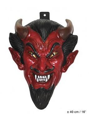 Декоративная голова дьявола