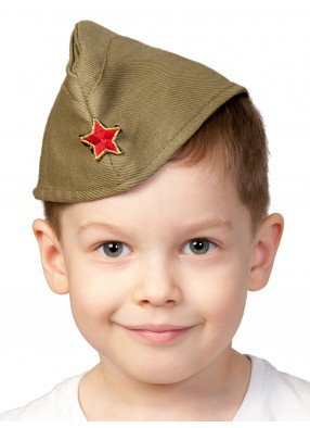 Детская армейская пилотка