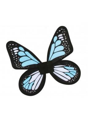 Детские голубые крылья Бабочка фото