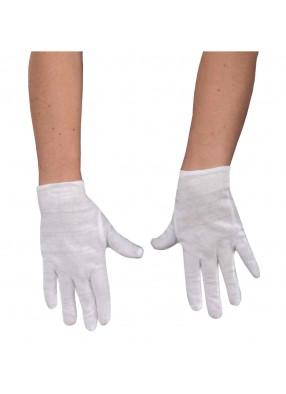 Детские перчатки белые