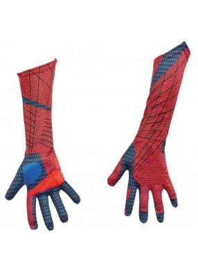 Детские перчатки Человека-Паука красно-синие