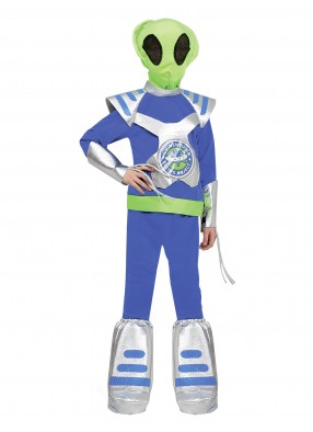 Детский карнавальный костюм инопланетянина