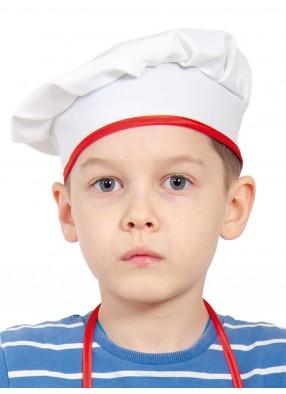 Детский колпак поварёнка