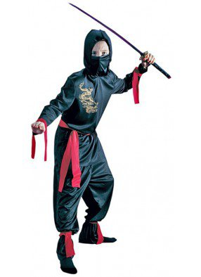 Детский костюм чёрного Ниндзи