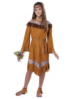 Детский костюм индейской принцессы фото