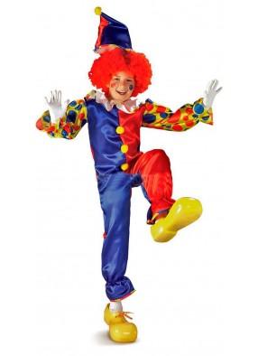 Детский костюм клоуна-акробата