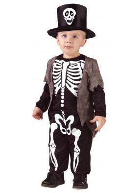 Детский костюм Счастливого Скелета фото