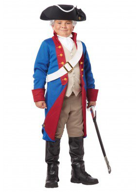 Детский костюм американского патриота фото