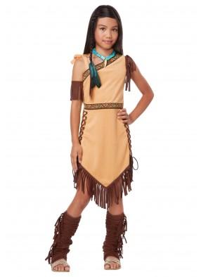 Детский костюм американской принцессы фото