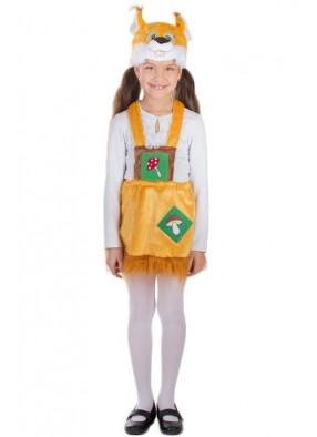 Детский костюм белочки