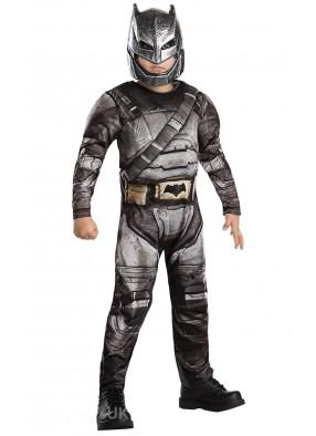 Детский костюм Бэтмена Бронированный Dlx фото
