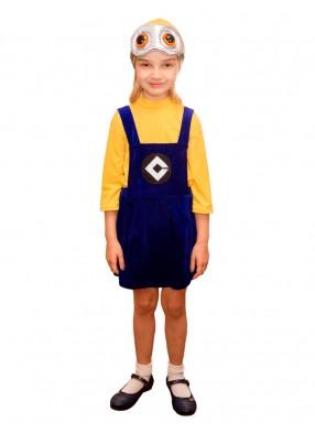 Детский костюм девочки-миньона