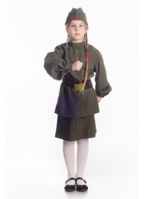 Детский костюм Девочки солдата 3 фото