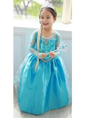 Детский костюм Эльзы Frozen фото