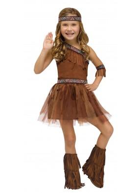Детский костюм индейской девочки фото