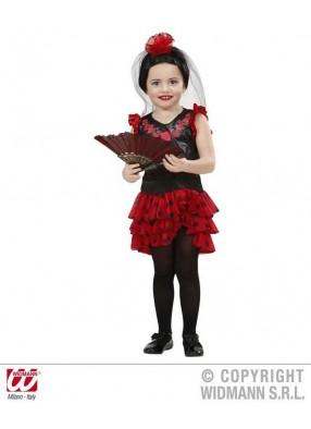 Детский костюм испанской леди