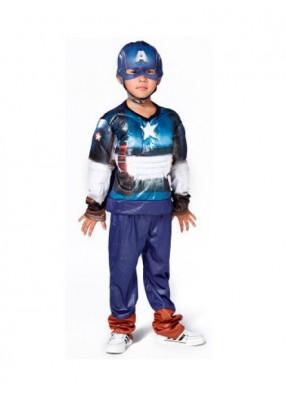 Детский костюм капитана Америки