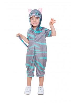 Детский костюм кигуруми Чеширский Кот