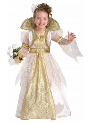 Детский костюм королевской невесты