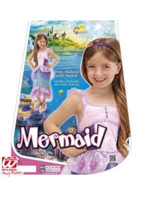 Детский костюм красивой русалки