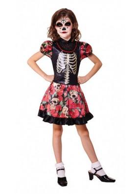 Детский костюм куклы на День смерти