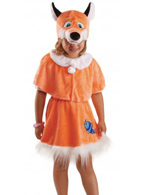 Детский костюм лисички