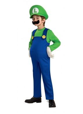 Детский костюм Луиджи Deluxe