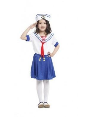 Детский костюм маленькой морячки