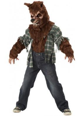 Детский костюм медведя-оборотня