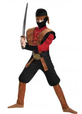 Детский костюм Ниндзя с мышцами