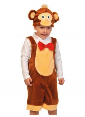 Детский костюм обезьяны в пюшевом комбинезоне