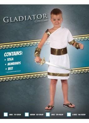 Детский костюм отважного гладиатора