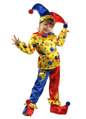 Детский костюм петрушки фото