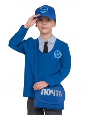 Детский костюм почтальона с сумкой