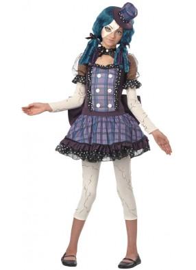Детский костюм разбитой куклы