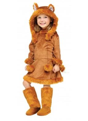 Детский костюм рыжей лисицы