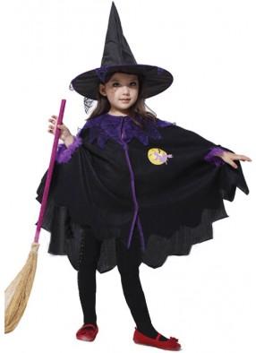 Детский костюм Симпатичной ведьмочки 1 фото