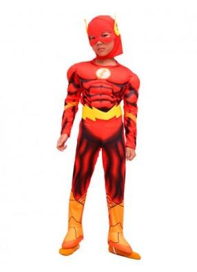 Детский костюм скоростного Флеша