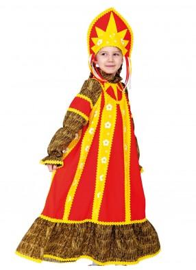 Детский костюм солнечной масленицы