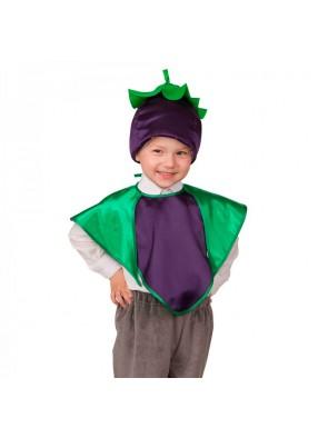 Детский костюм спелого баклажана