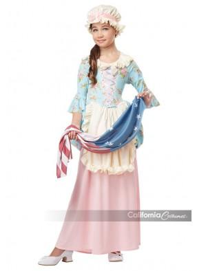 Детский костюм светской дамы нового света