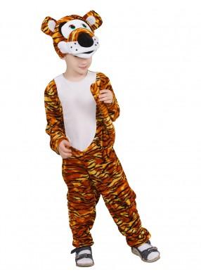 Детский костюм тигренка в комбинезоне