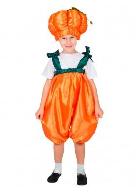 Детский костюм тыквы в комбинезоне